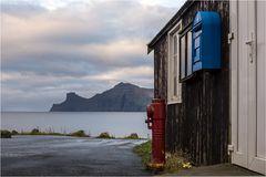 Der letzte Briefkasten vorm Atlantik...