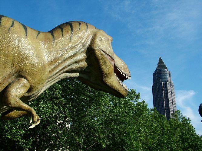 Der letzte Dino in Frankfurt