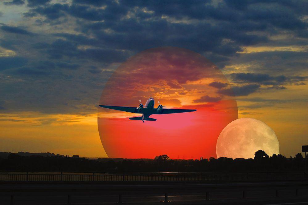 Der letzte Flieger... oder