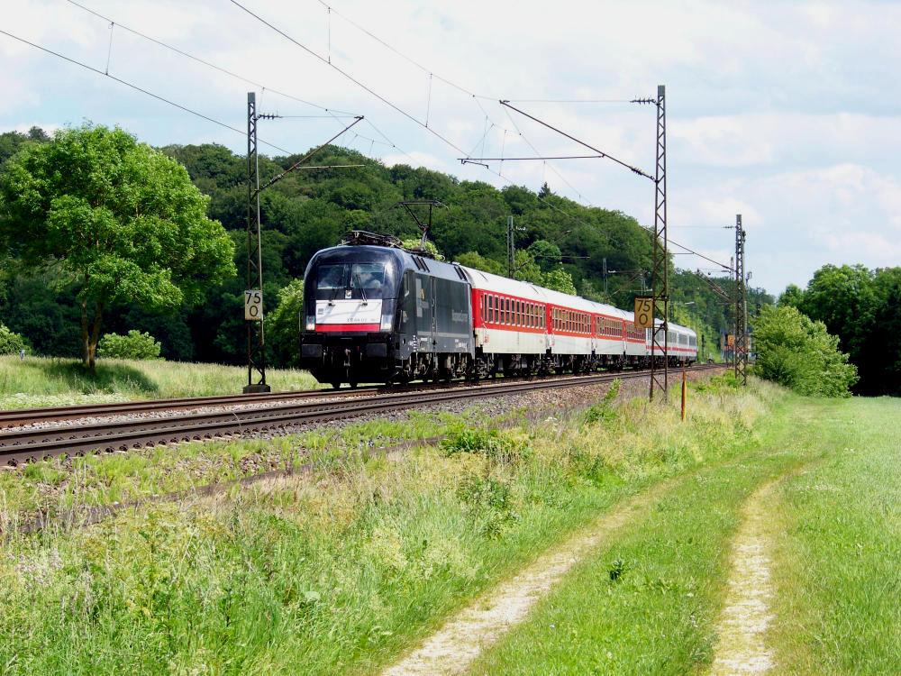 Der letzte IC 79693 nach Stuttgart...