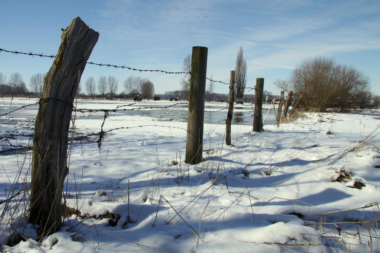 Der letzte Schnee im März
