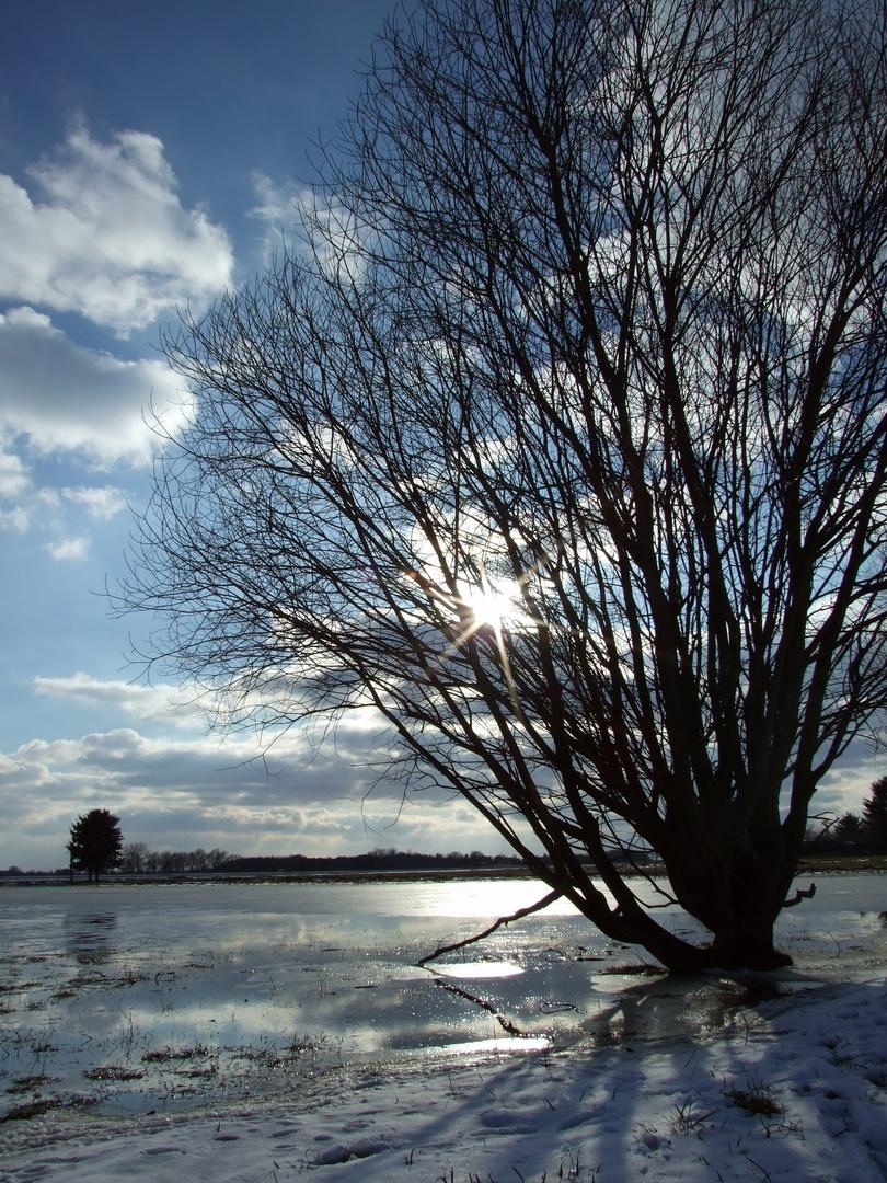 Der letzte Schnee schmilzt...