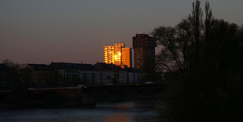 Der letzte Sonnenstrahl...