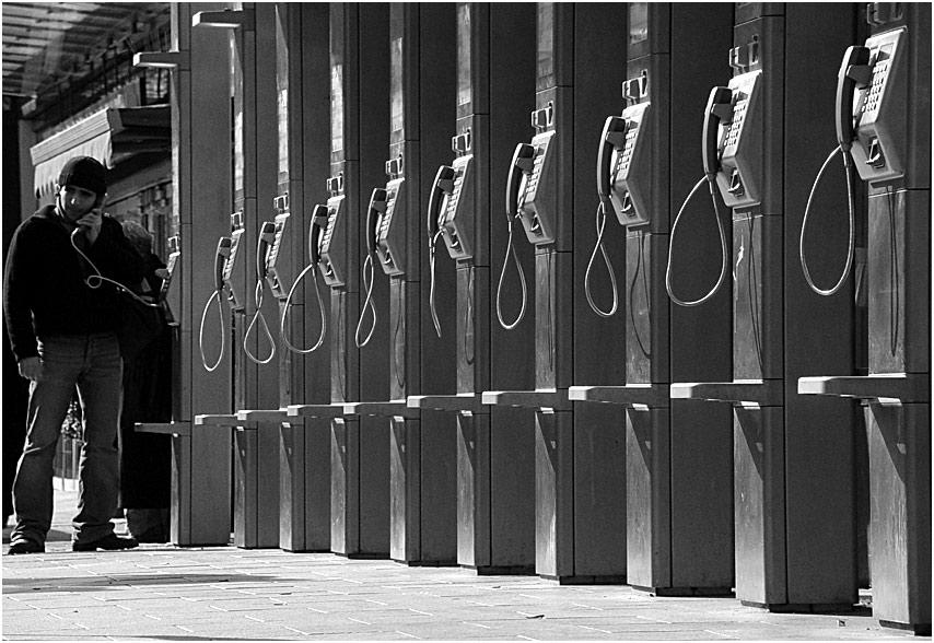 Der letzte treue Telekom Kunde ...