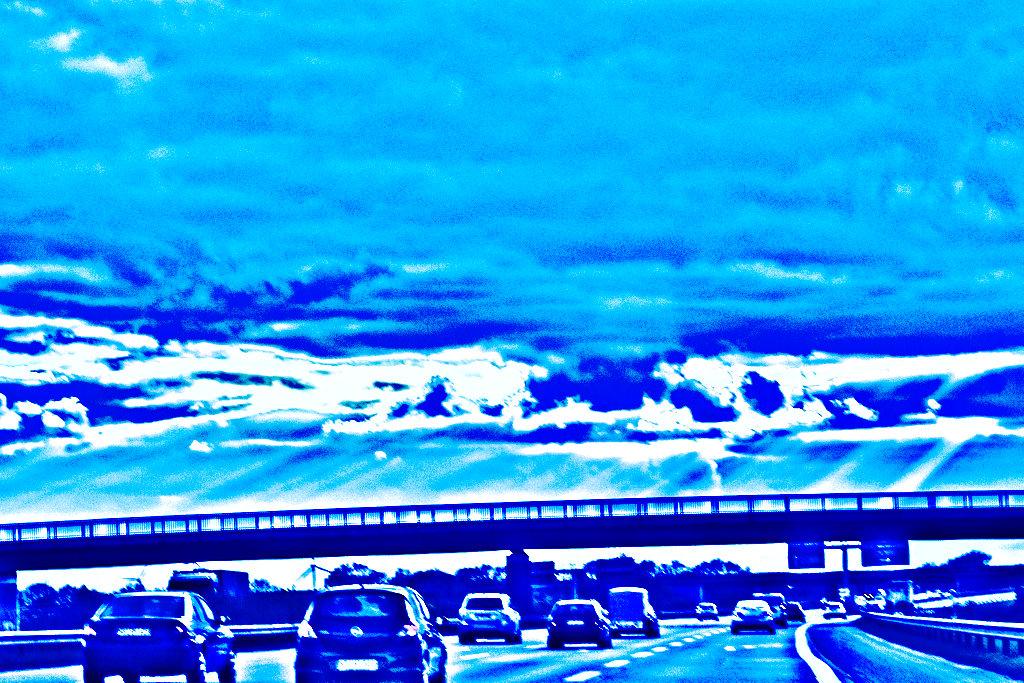 Der letzte Weg in blau