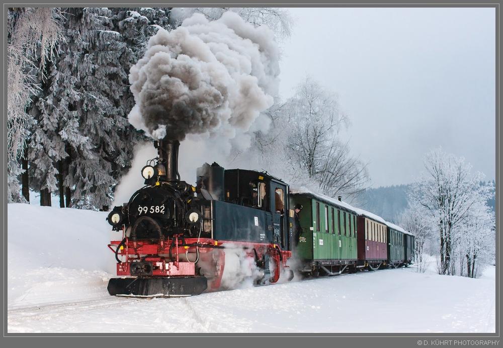 Der letzte Zug am Fuchsstein