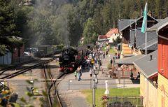 Der letzte Zug von Oybin nach Zittau wird gestürmt