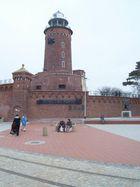 der Leuchtturm in Kolberg