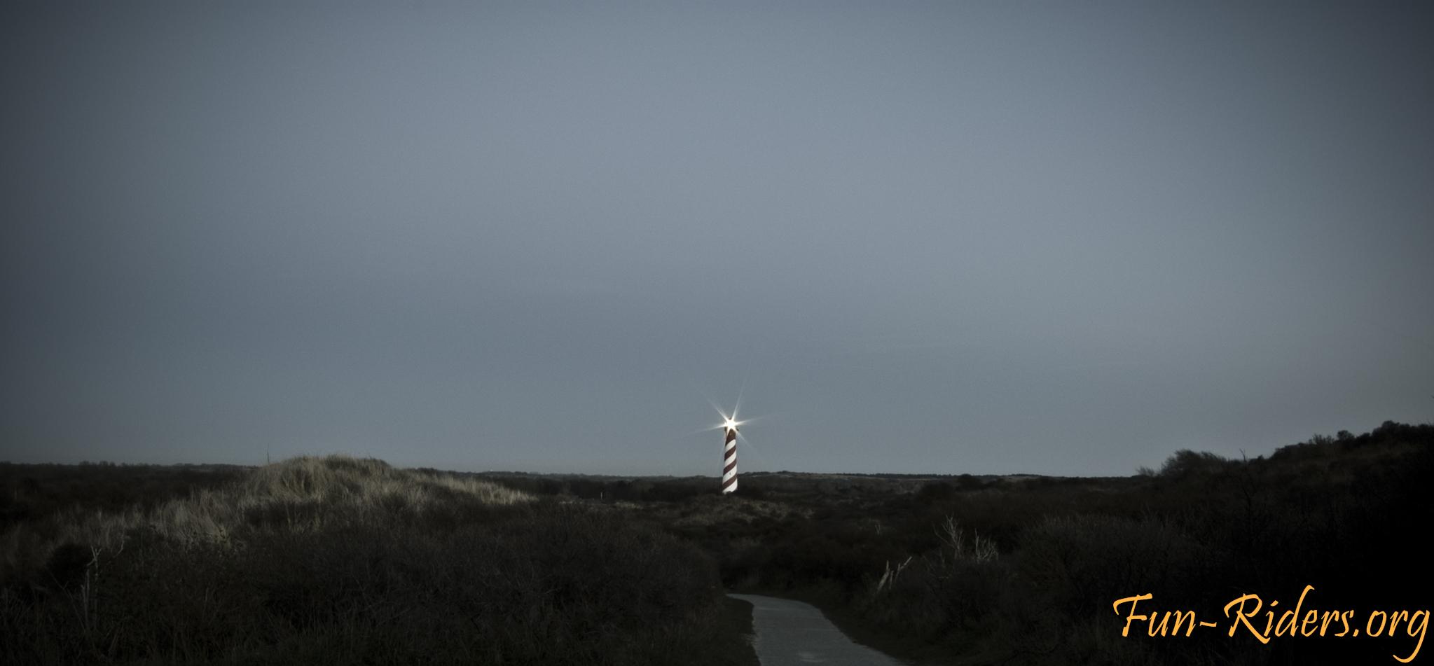 Der Leuchtturm von Burgh-Haamstede, Niederlande