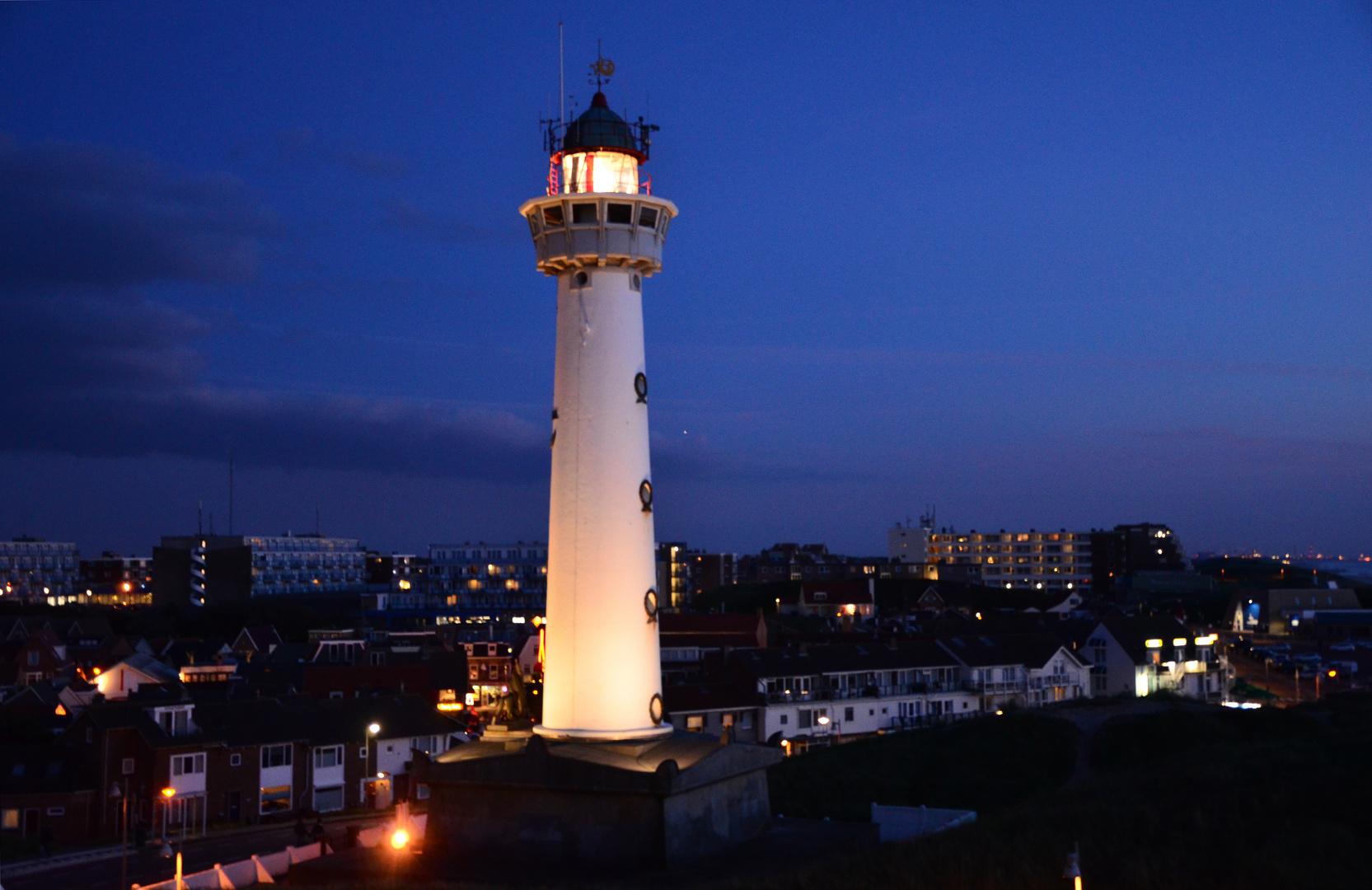 Der Leuchtturm von Egmond aan Zee - Vuurtoren Jan van Speijk
