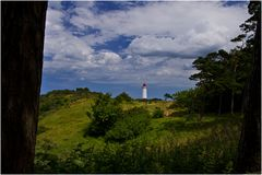 Der Leuchtturm von Hiddensee ist immer ein Bild wert
