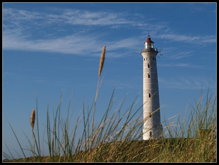 Der Leuchtturm von Nørre Lyngvig...
