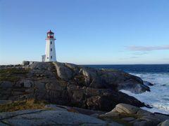 Der Leuchturm von Peggys Cove