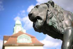 Der Löwe im Sprudelhof