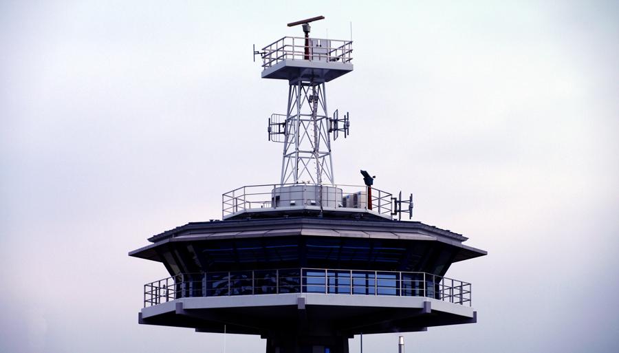 Der Lotsenturm in Travemünde