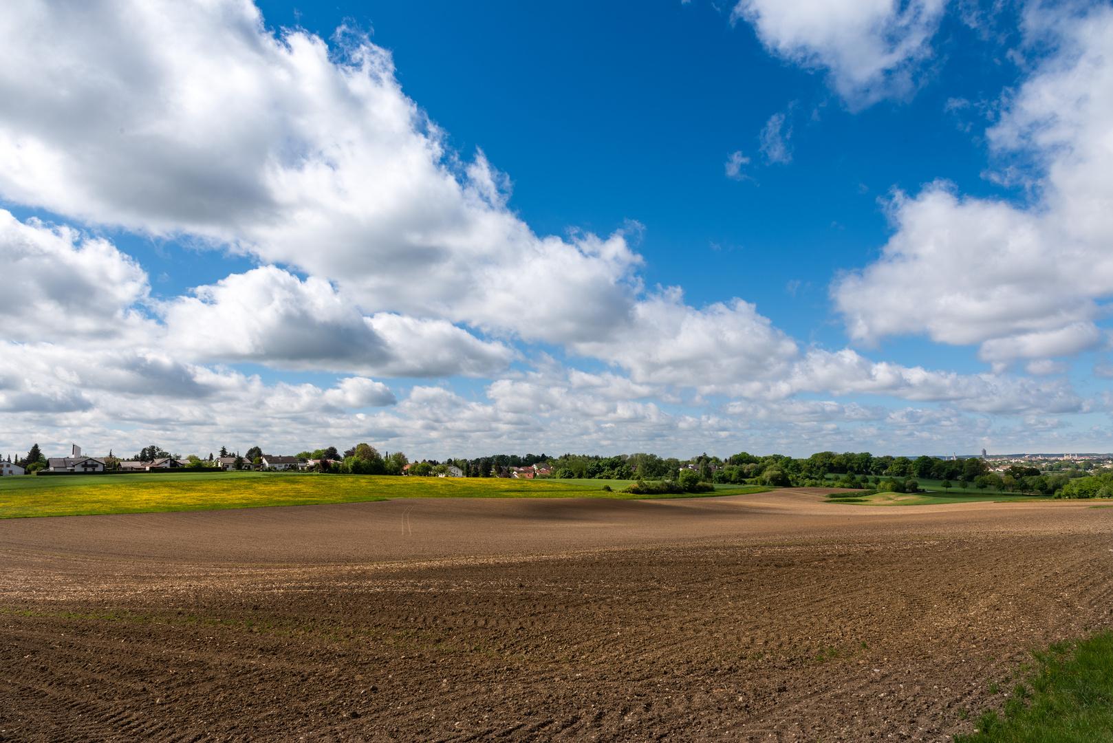 Der Mai - ein Garant für tolle Wolkenstimmungen