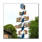 Der Maibaum von Schliersee