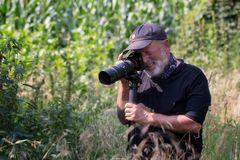 Der Makro-Fotograf