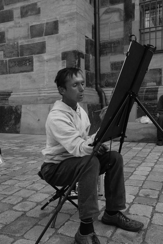 .: Der Maler :.