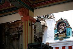 Der Maler im Tempel