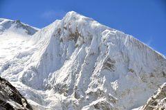 Der Manaslu Nord (6994 m) auf der Manaslu-Runde