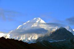 Der Manaslu Nord (6994 m) von Bhimtang