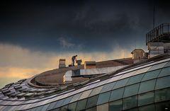 Der Mann auf dem Dach
