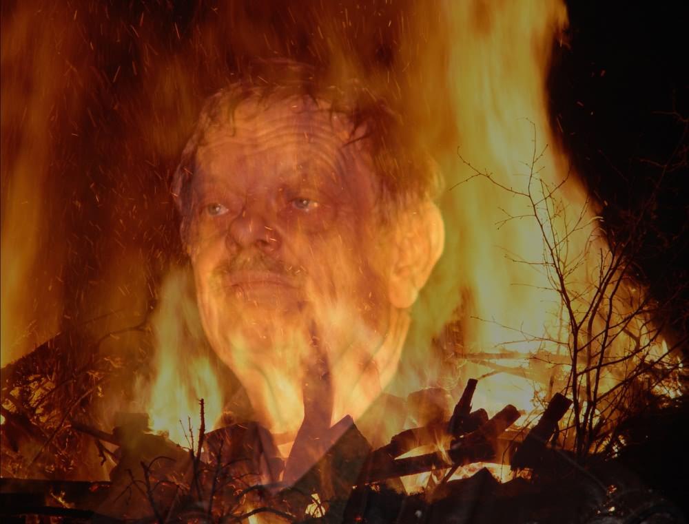 Der Mann der aus dem Feuer kam
