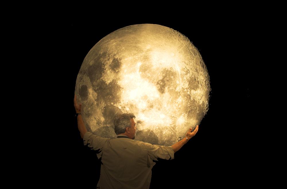 Der Mann im Mond...