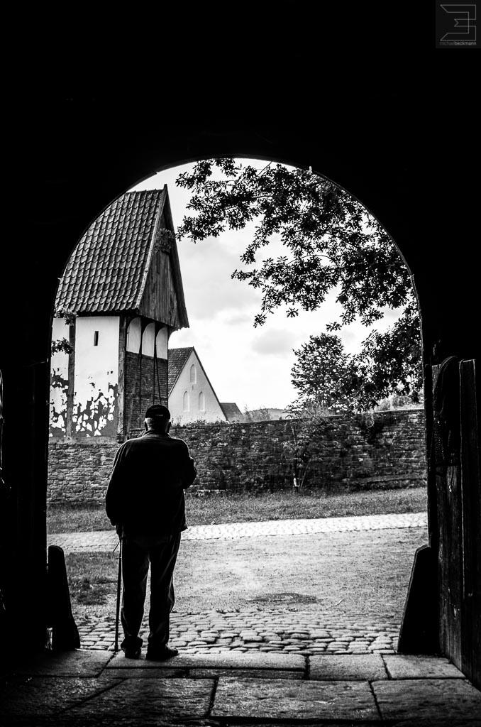 Der Mann im Tor !