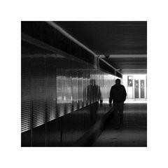 Der Mann im Tunnel