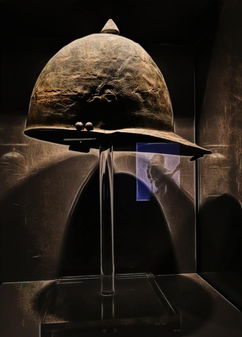 Der Mann Mit Dem Goldhelm Foto Bild World Spezial Helm