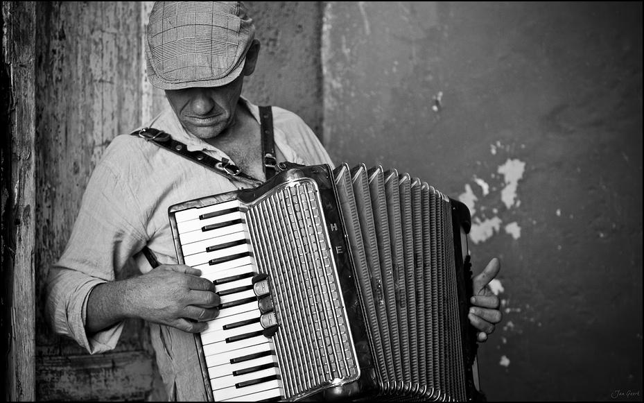 Der Mann mit der Harmonika