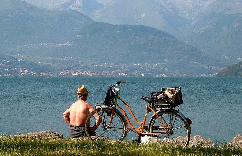 Der Mann und sein See....