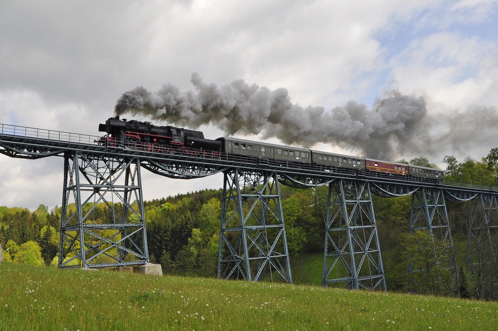 Der Markersbacher Viadukt