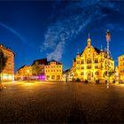 Der Marktplatz...