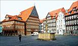 Der Marktplatz in Hildesheim von Timo Krüger