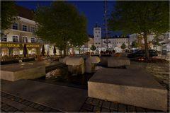 Der Marktplatz mit Jacklturm