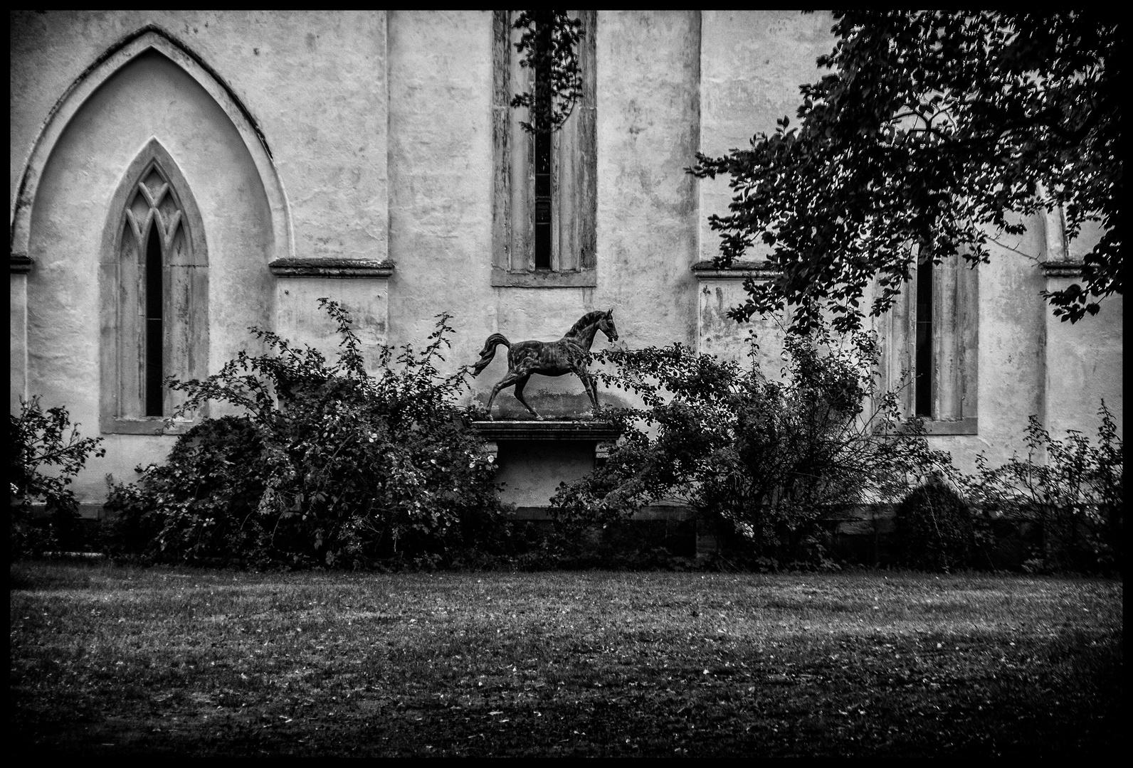 Der Marstall in Lützschena