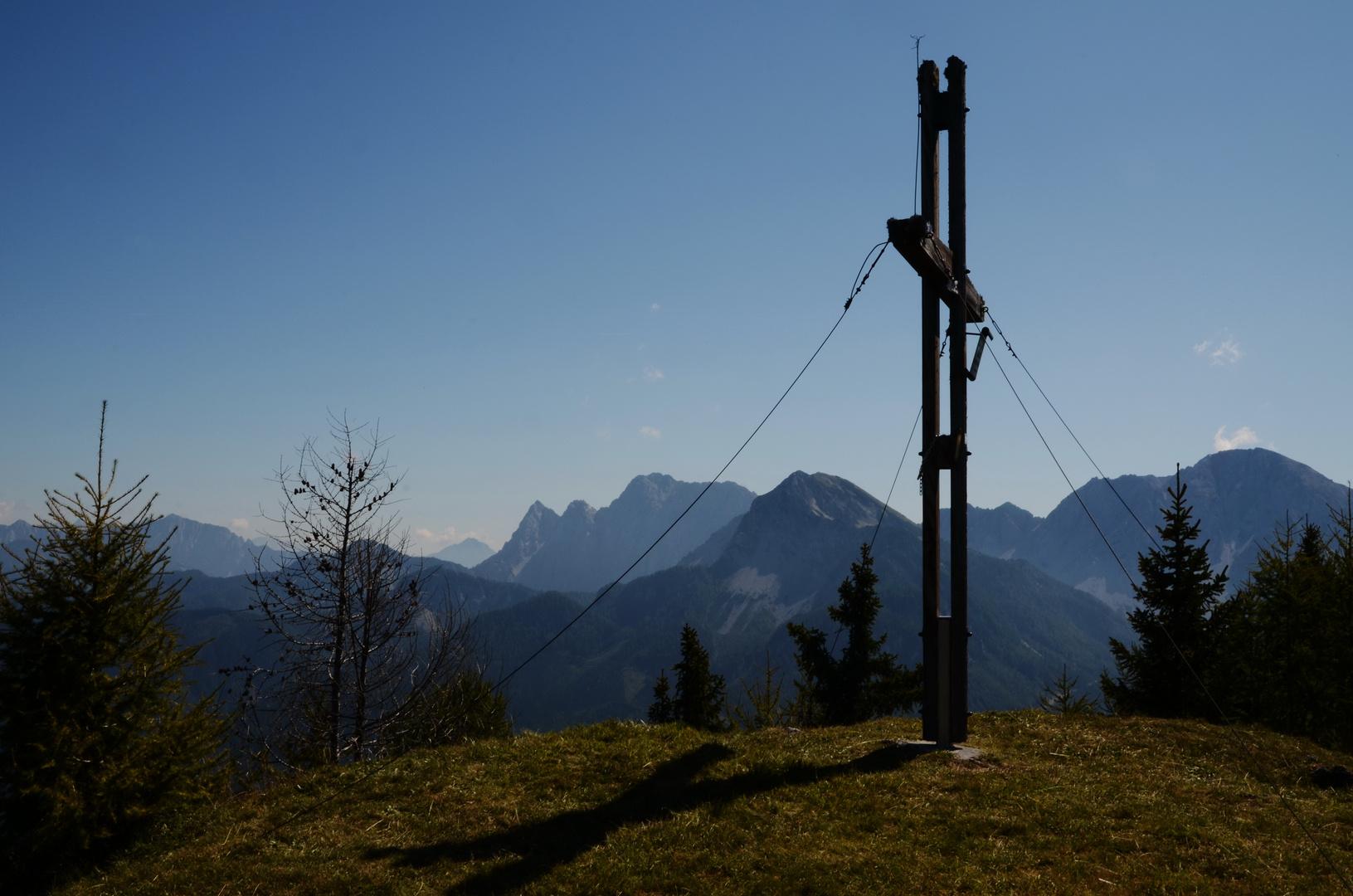 Der Matschachergupf über dem Rosental in Kärnten