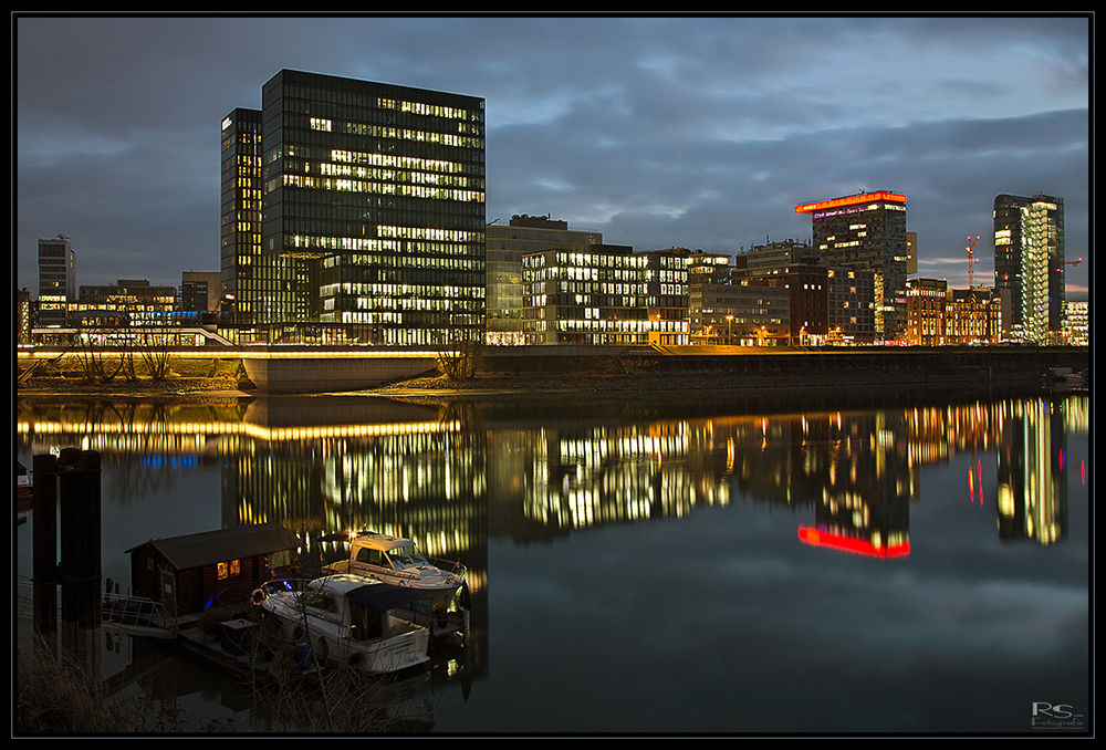 Der Medienhafen Düsseldorf