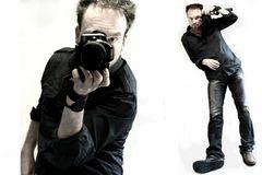 der mit der Canon fotografiert