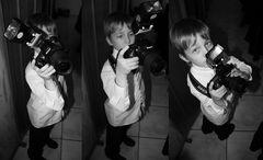 Der mit der Nikon kämpft