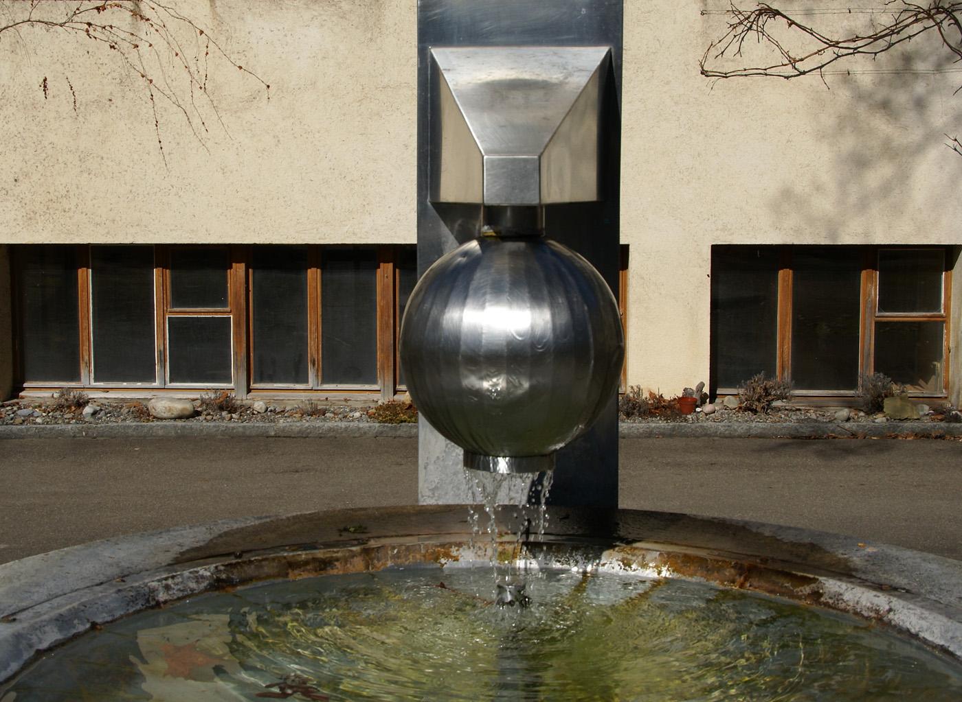 Der Moderne Brunnen Foto Bild Architektur Zierbrunnen
