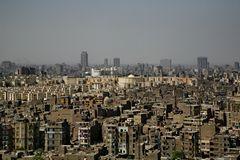 Der Moloch Kairo von der Zitadelle aus gesehen