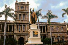 Der Monarch von Hawai'i
