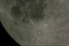 Der Mond Dienstag, 9. September 2014, 06:27:53