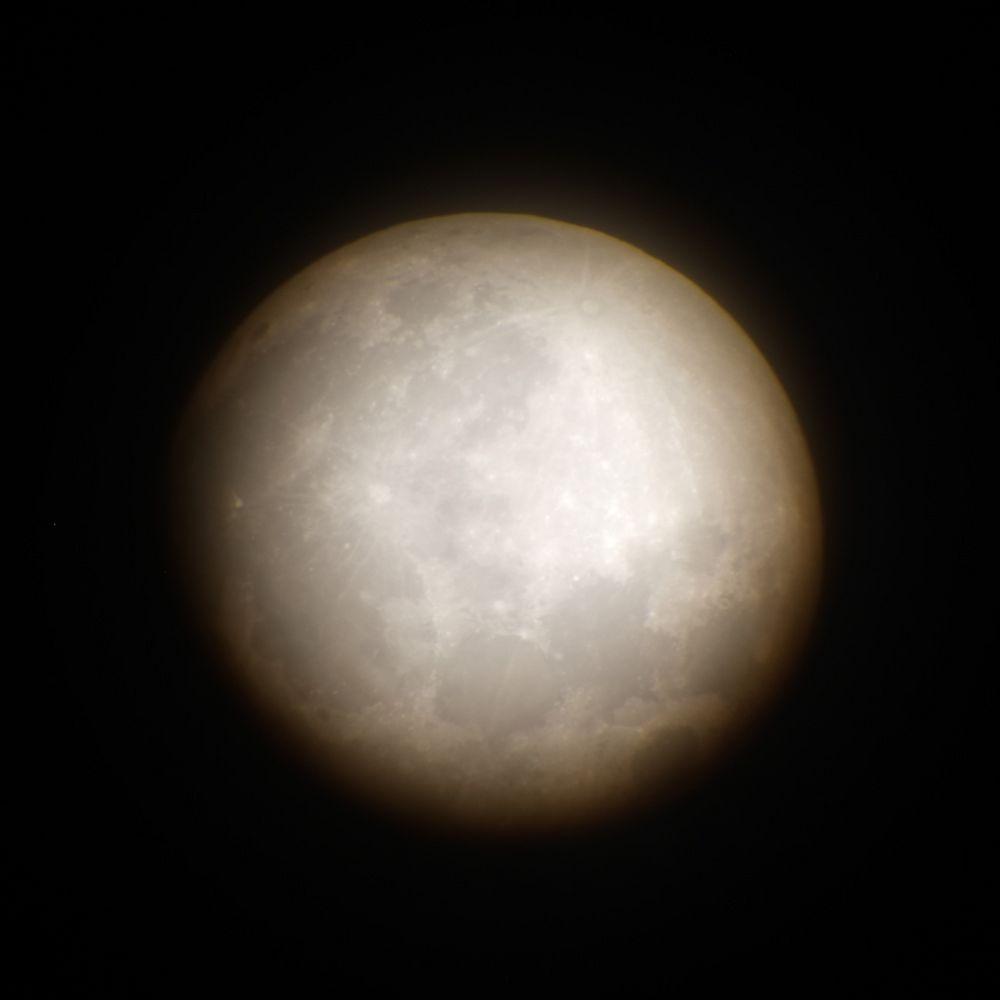 der Mond am 14. November 2016