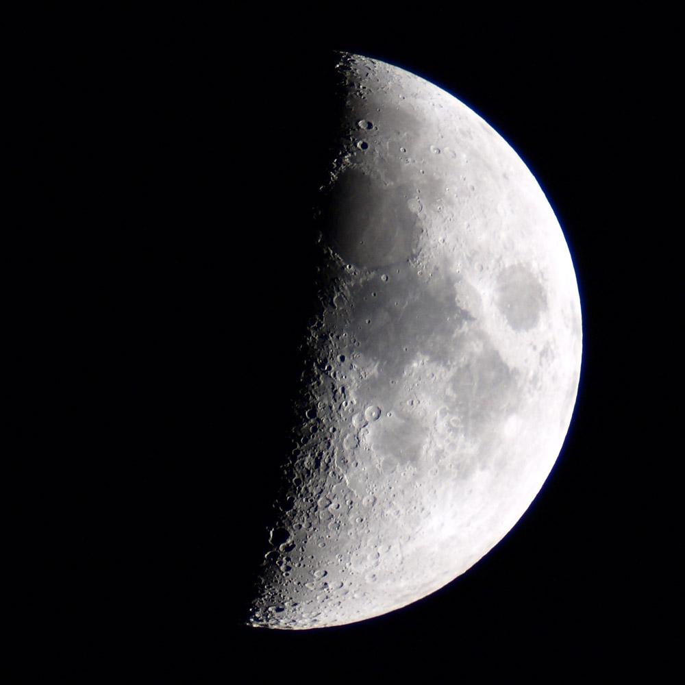 """Der Mond, geht auch mit dem """"Lidlscop"""""""