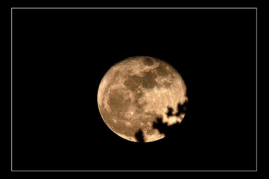 Der Mond ist aufgegangen...